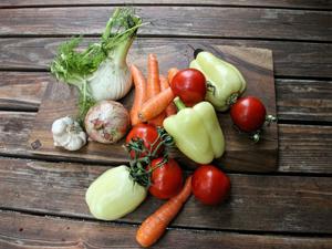 Test de atentie cu legume