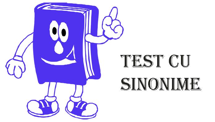 Test cu sinonime