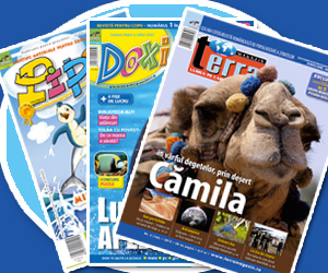 Au aparut revistele de mai Terra Magazin, Doxi si Pipo