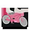 Bicicleta roz