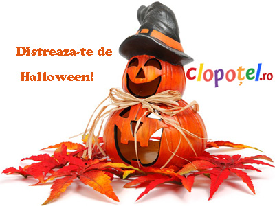 Felicitare aleasa - Distreaza-te de Halloween!
