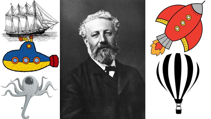 Test despre Jules Verne