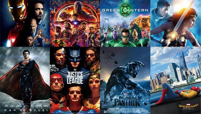 Din ce film cu supereroi esti?