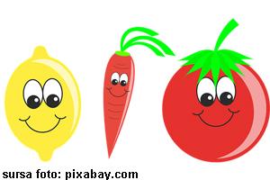 Testul vegetalelor vesele