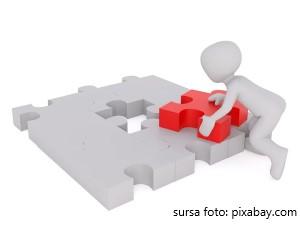 Test cu puzzle pentru copii