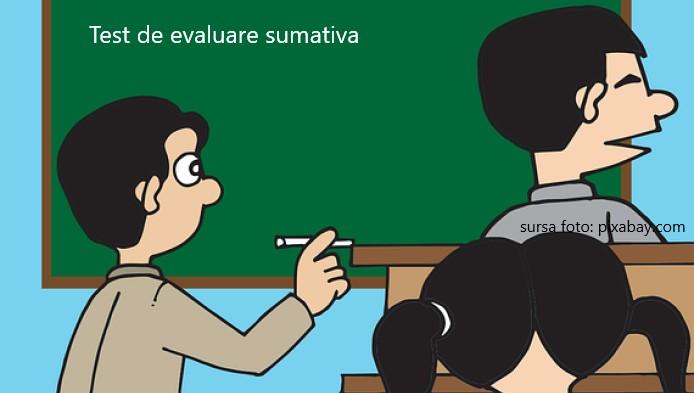 Test la matematica de clasa a IV-a