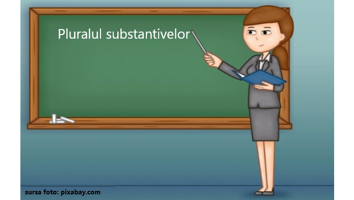 Pluralul substantivelor