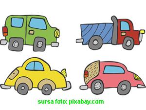 Test cu masini pentru juniori