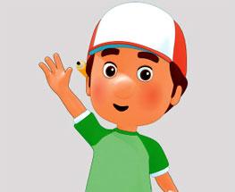 Sa invatam culorile cu Handy Manny!