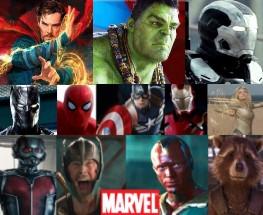 Testul supereroilor Marvel