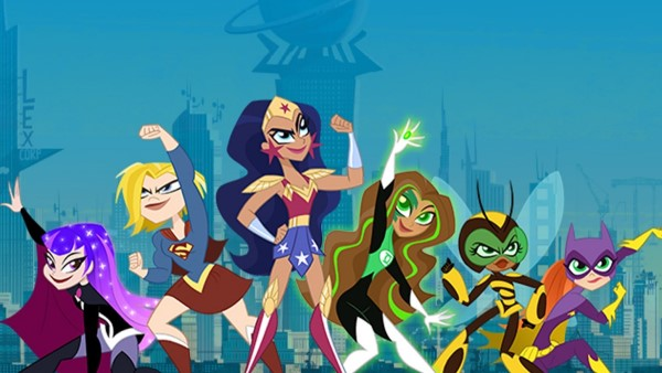 Super eroinele DC