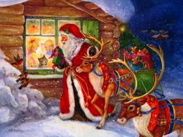 Autenticul Simbolism al Crăciunului - Moş Crăciun